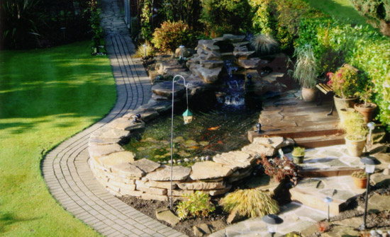 Ponds water features from arundel landscapes for Pond water features