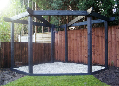 Pergolas Gates Amp Sleeper Beds From Arundel Landscapes